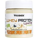 Weider Whey Protein White Spread 250 g. Crema de chocolate Blanco con 22% de proteínas Baja en azúcares Sin aceite de palma y