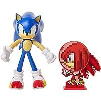 Sonic The Hedgehog - Action figure giocattolo da collezione Sonic, 10 cm