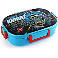 Cello Feast Deluxe Insulated Kids Lunch Box (with Steel Inner), Blue