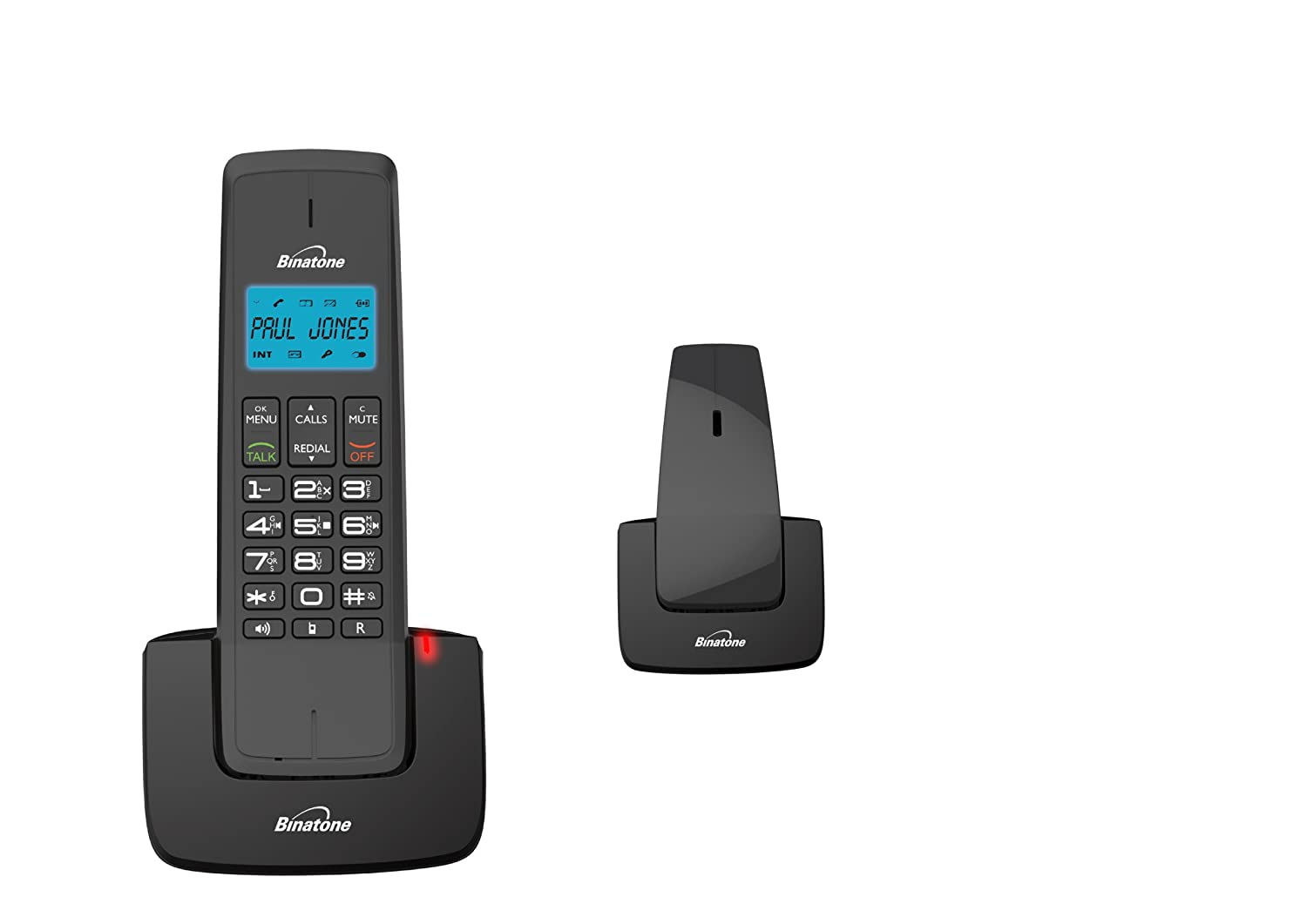 Binatone Designer 2115 Twin DECT Telephone With Answer: Amazon.co.uk:  Electronics