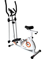 Powermax Fitness EH-250S - Elliptical Cross Trainer/Cycle with Adjustable Seat