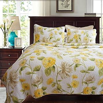 fendie® baumwolle tagesdecke schlafzimmer bettdecke ... - Patchwork Tagesdecke Bettuberwurf Schlafzimmer