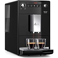 Melitta Automatic Espresso Machine, Purista Model, F230-102, Black, 6766034