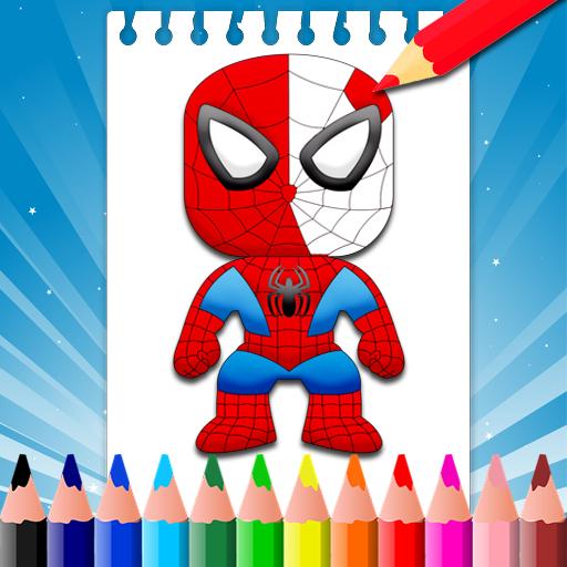 Super hero Coloring Pages: Amazon.de: Apps für Android