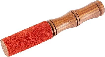 XDrum Himalaya Holzklöppel klein (Klöppel für tibetische Klangschalen, Länge: 15 cm, Durchmesser: 24 mm)
