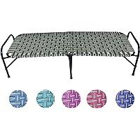 Ponperi Single Size Nylon Niwar Folding Bed