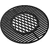 Onlyfire Griglia in ghisa per Weber Gourmet BBQ System |BBQ Accessori per 57 cm Weber Griglia a Carbone