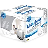 UHU 50530 Air Max Ambiance Recharges sans parfum pour Absorbeur d'humidité Blanc
