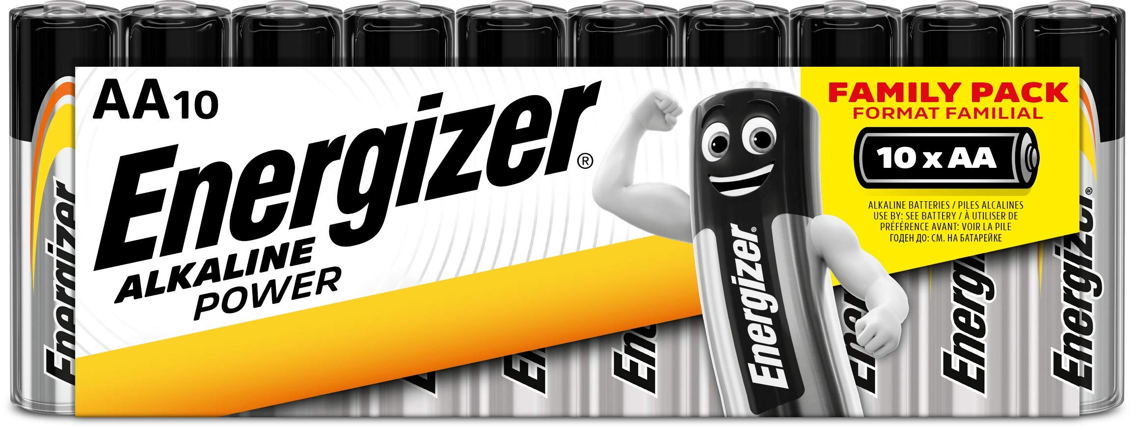 Energizer – Box de 24 pilas alcalinas Alkaline Power
