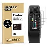 iVoler [4 Stuks] Beschermfolie Compatibel met Garmin Vivosport Screen Protector, Film van Gehard Glas Schermbeschermer met [9