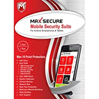 Max Secure Software Max Total Security for Android Version 6 - 1 Phone, 1 Year (Email Delivery in 2 Hours - No CD)