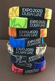 Expo 2020 Bracelet Strap Wristband Black