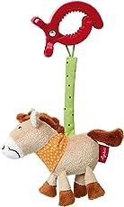 Sigikid SIGIKID4154612x 11x 4cm Play Kuller Buller Farm Textile clip cavallo doudou