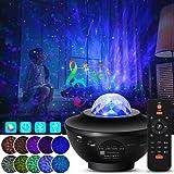 LED Star Projector Lights 2 in 1 Sterrenhemel Nachtlampje Lamp & Ocean Wave Projector Cadeaus voor kinderen Volwassenen Slaap