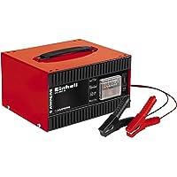 Einhell Chargeur de batterie CC-BC 5 (pour batteries de 16 à 80 Ah, Tension de charge 12 V, ampèremètre intégré, poignée…