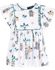 Tiramisu Cute Animal Print Dress for Baby Girl