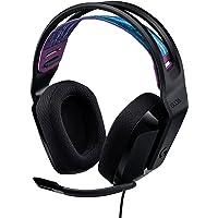 Logitech G335 Kabelgebundenes Gaming-Headset, Flip-to-Mute-Mikrofon, 3,5 mm Audioanschluss, Memory-Schaum-Ohrpolster…