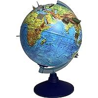 alldoro 68600 3D Lexi Globus Ø 25 cm mit Smartphone IQ Globe App, Leuchtglobus mit LED Lampe ohne Kabel, Kinderglobus…
