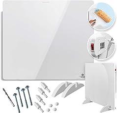 KESSER® Infrarotheizung 550 Watt Wandheizung ✓ Infrarot ✓ Heizung ✓ Heizkörper | Heizpaneel| Inkl.Standfüßen NEU |