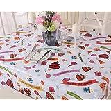 Mantel de vinilo para fiesta de cumpleaños infantil, fácil limpieza - Square(140x140cm)