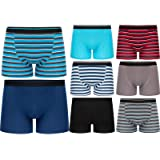 6 Pairs of Boys Boxer Shorts Super Quality Underwear Boxers Ages 2-15+