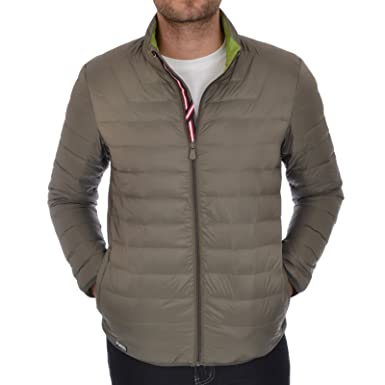 Puffa Men's Lightweight Down Jacket - Olive - Small: Amazon.co.uk ...