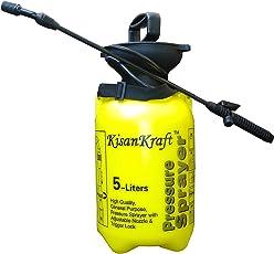 Kisan Kraft Hand Pressure Sprayer 5 Liter Compressed Air Sprayer Garden Sprayer