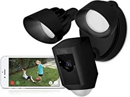 Ring Floodlight Cam | HD Security Camera with Built-in Floodlights, Two-Way Talk and Siren Alarm