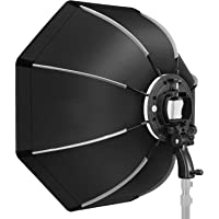 VIBLITZ® Octagonal Softbox with S-Type Bracket Holder (with Bowens Mount) and Carrying Bag for Speedlite Studio Flash…