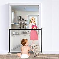 Magic Gate per Cani, Portatile, per Scale, Protezione di Sicurezza per Animali Domestici, Rete di Isolamento Interno ed…