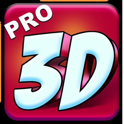 3D Text Kunst - Design Schriftart Logo - 3d-kunst Maker