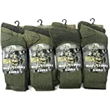 Mens Army Military Patrol Combat Boot Chunky Socks Hiking Work Thermal Socks Size UK 6-11
