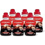 Sodastream Lot de 6 Concentrés Saveur Cola – Sans Aspartame, Sans Conservateur ni Arôme Artificiel – 6 x 500 ml