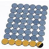 Shintop Muebles deslizadores, 48 piezas de teflón auto-adhesivo silla patas de PTFE deslizadores para muebles fáciles movers(