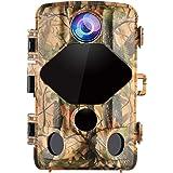 """Wansview Wildkamera, 16MP 1080P Jagdkamera 2.4"""" LCD mit 0,2S Bewegungserkennung Auslösezeit 20M Nachtsicht 120° Weitwinkel Wasserdicht Überwachungskamera für Wildtierjagd und Heimsicherheit T01"""