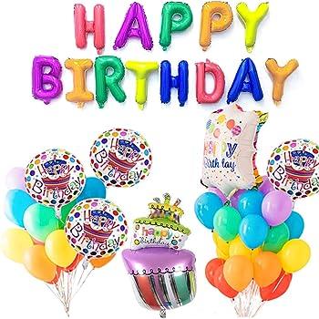 Palloncini Buon Compleanno Decorazioni Per Feste Di Compleanno Per