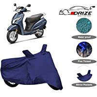 Drize Finest Honda Activa 125 Cover Waterproof With Ultra Surface Body Protection (Navy Look)