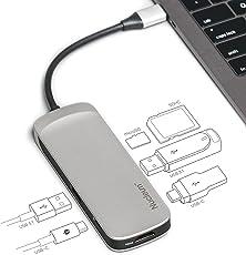 Kingston Nucleum USB C Hub (White)