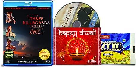 Three Billboards Outside Ebbing, Missouri + Flicka - 2 English Movies (2 Blu-ray bundle offer)