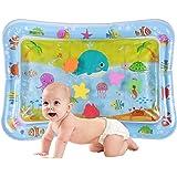 Watermat baby, waterspeelmat baby speelgoed, opblaasbare baby watermat, PVC met water gevulde speelmat voor baby speelgoed 3