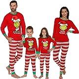 Navidad Familia Mamá Papá Niños Pijamas, Navidad Familia Pijamas Conjuntos a Juego, 2020 Algodón De Talla Grande The Grinch R