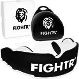 FIGHTR® Premium paradenti – Respirazione Ideale & Facilmente Adattabile | Paradenti Sportivo per Boxe, MMA, Muay Thai…