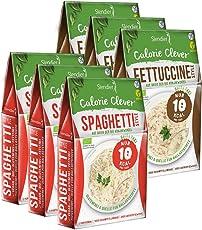 Shirataki Konjak Italien Probierpaket: 3 x Spaghetti-Style 250g, 3 x Fettuccine-Style 250g - Bio