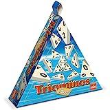 Goliath - Triominos Travel (boite triangulaire) - Jeu de voyage - à partir de 6 ans- Jeu de société - Jeu de stratégie