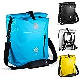 MNT10 4in1 Fahrradtasche Gepäckträger in 18L, 25L I Gepäckträgertasche für Fahrrad, Rucksack, Dry Bag & Umhängetasche in 1 I