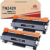 Toner Kingdom Compatibili Cartucce Toner Sostituzione per Brother TN2420 TN-2420 TN2410 per MFC L2710DW L2710DN L2730DW L2750