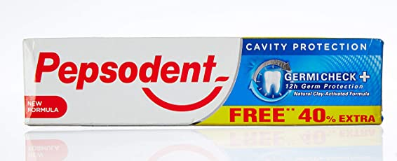 Pepsodent Germi Check Toothpaste - 100 g (Extra 40 g)