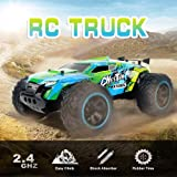 KY-2011A 1/14 Big Foot RC Crawler RC Off-road Car 2.4G 2WD RC Truck High Speed Lightweight RC Car Toys for Kids Adults RTR RM