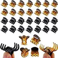 ZOCONE Mini Clip per Capelli Plastica, 100 PCS Artigli per Capelli Donna Mollette per Capelli Mini Pinze per Capelli…