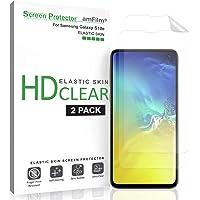 amFilm Protection écran Galaxy S10e (2 Pièces), Souple (Installation Facile) HD Transparent Élastique TPU Film Protecteur d'écran pour Samsung Galaxy S10e